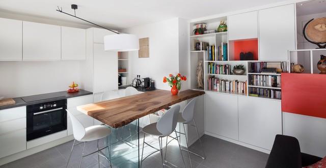 Aménagement et décoration d'une cuisine par Amélie Beaumont, Décoratrice UFDI