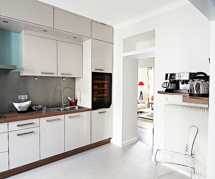 Rénovation de la cuisine d'une maison nantaise par Amélie Beaumont, Décoratrice UFDI à Nantes 44