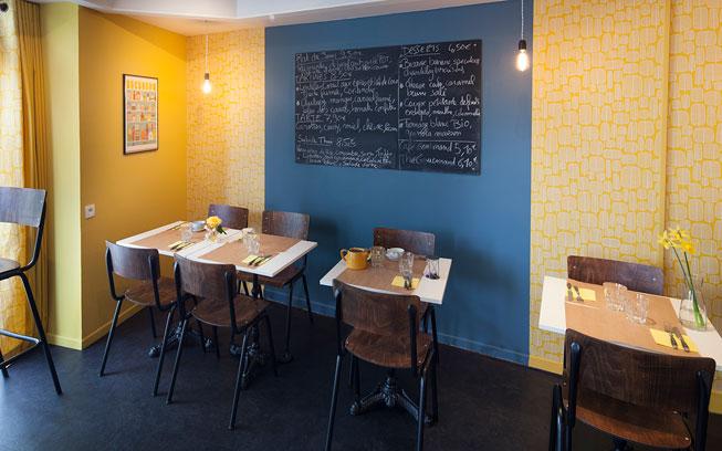 Salon de thé – Rétro Graphique Naturel