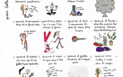 Note d'humour » les travaux» par Soledad