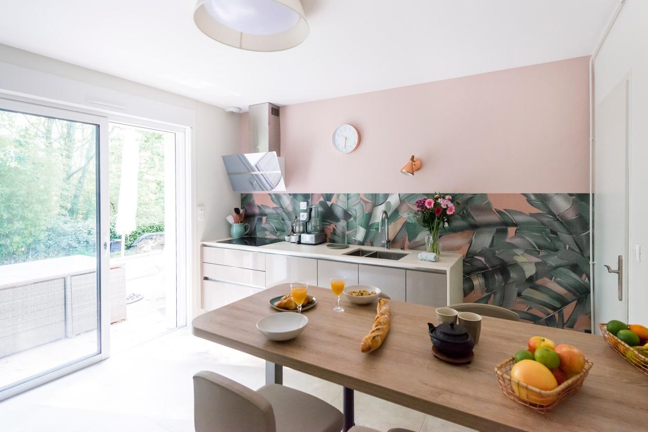 Feng Shui Cuisine Ouverte un projet de cuisine • de l'intérieur, décoratrice ufdi • 44