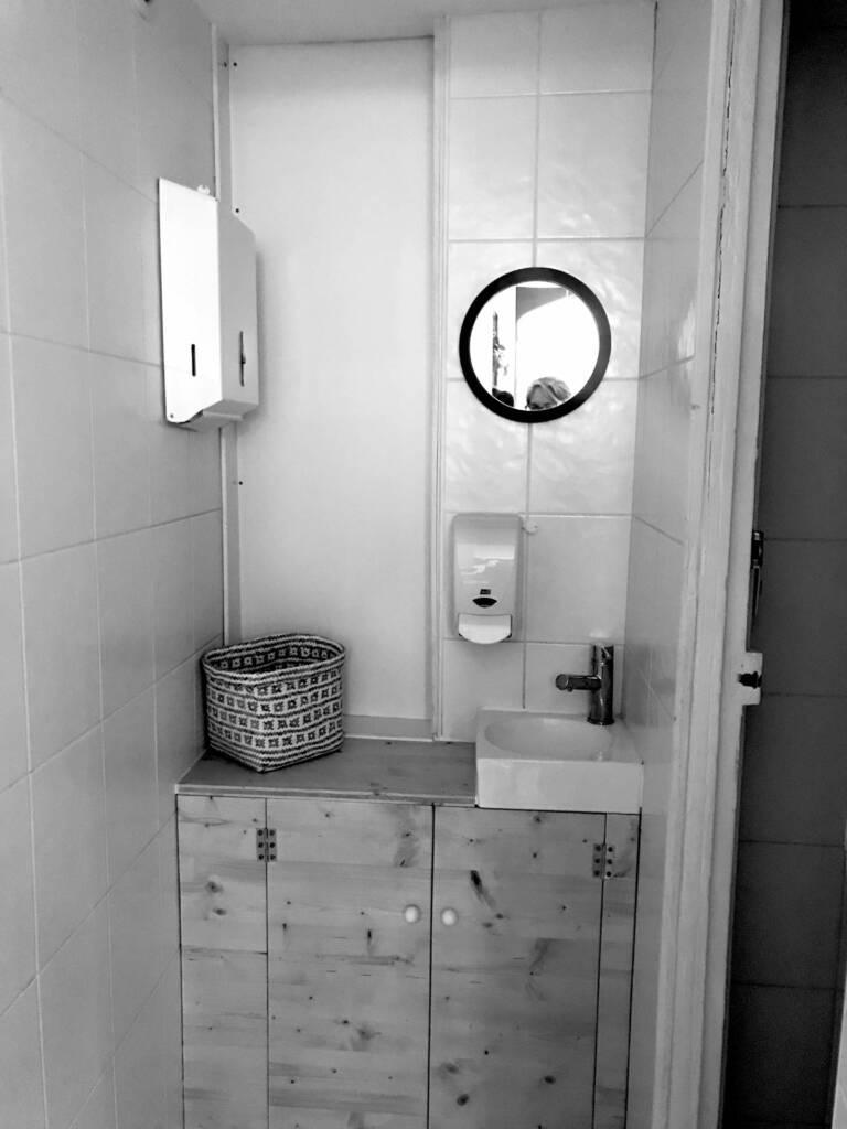 Restaurant Bienvenue à Nantes - les toilettes avant