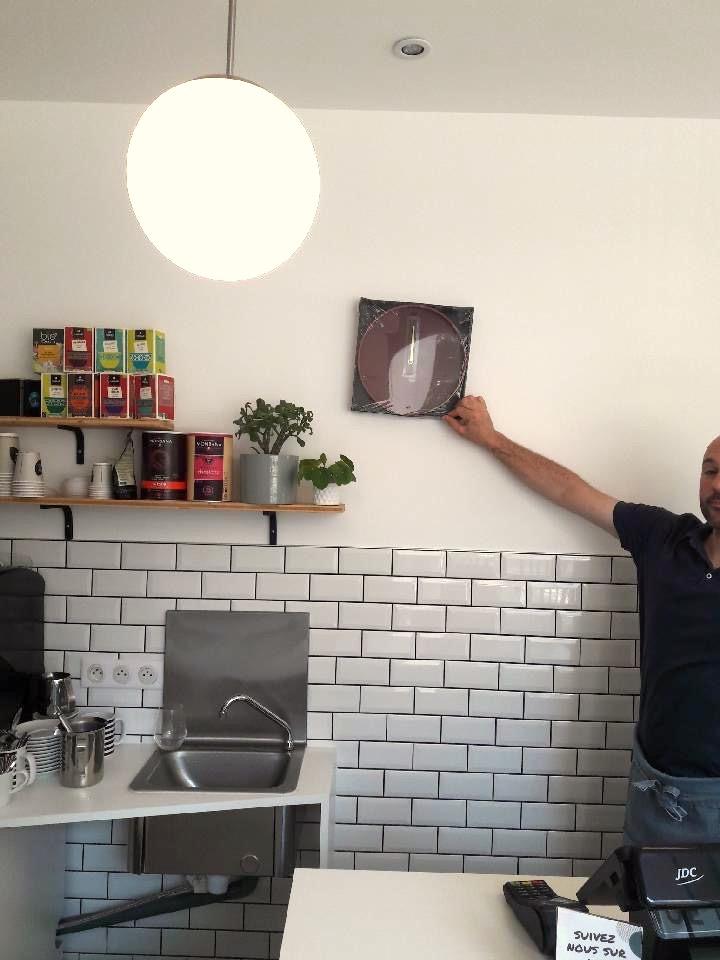 Restaurant Bienvenue à Nantes - un peu de déco dans la cuisine, par Amélie Beaumont, Décoratrice UFDI à Nantes et Pays de Loire 44